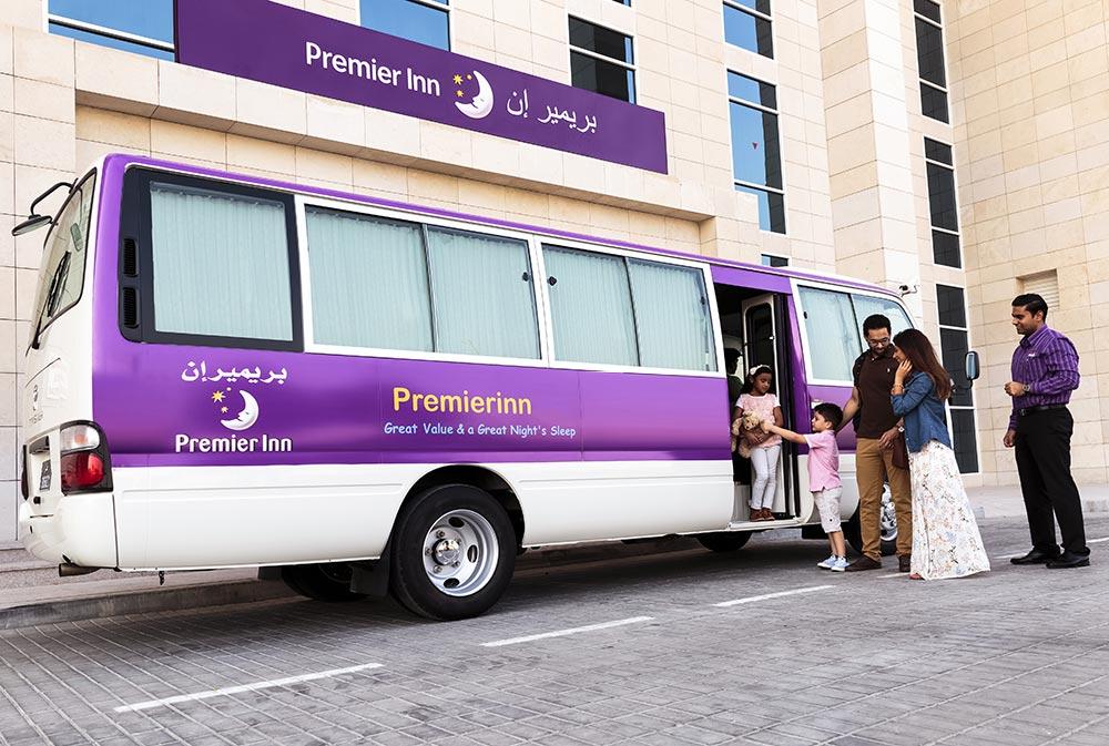 خدمة الحافلات المجانية