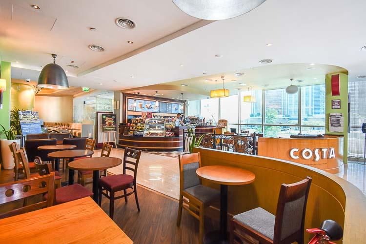 Costa Coffe at Premier Inn Abu Dhabi Capital Centre hotel