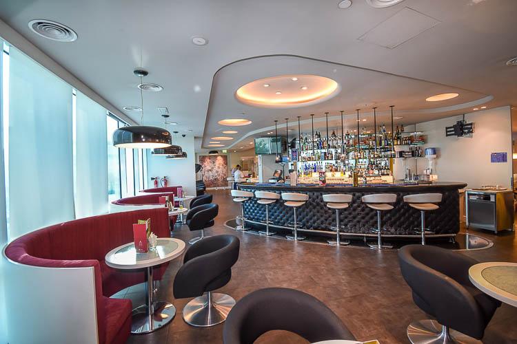 Lounge One licensed bar at 3 star hotel in Abu Dhabi