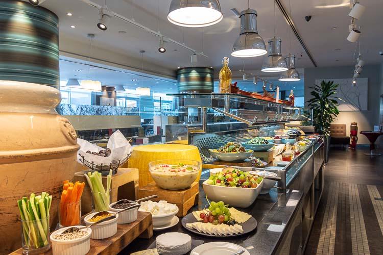Buffet lunch and dinner at restaurant in Premier Inn Abu Dhabi International Airport hotel