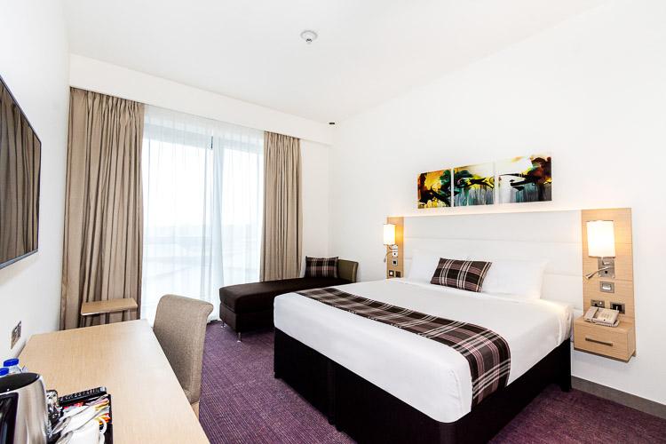Double room in 3 start hotel in Dubai near Dragon Mart