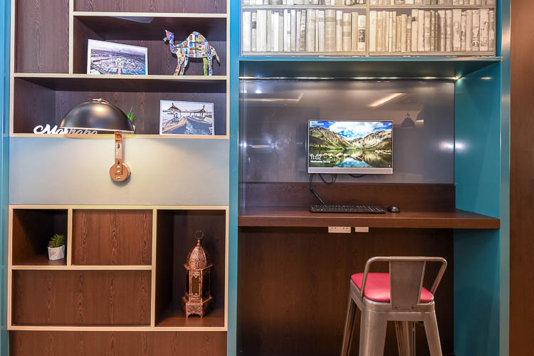 Workspace for business travellers at Premier Inn hotels
