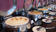 image of lunch buffet at premier inn hotel dubai