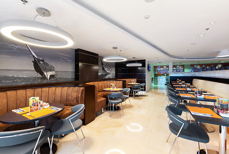 All day dining hotel restaurant near Doha Aiport