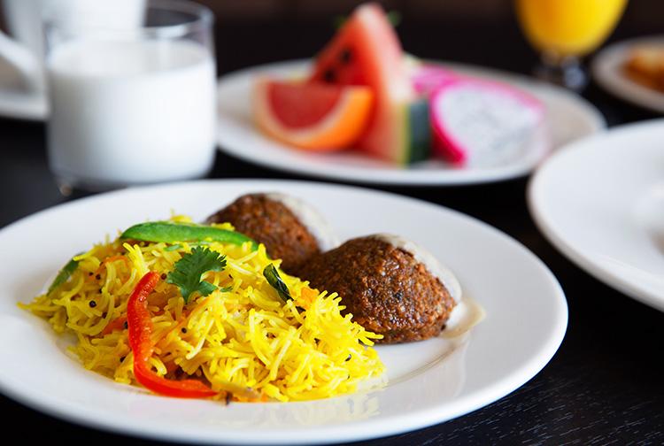 Dinner at restaurant near Doha Airport