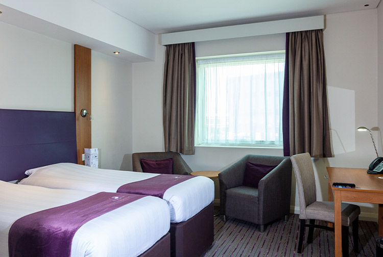 image of a family room in premier inn investments park hotel