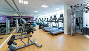 image of a gym at premier inn doha hotel
