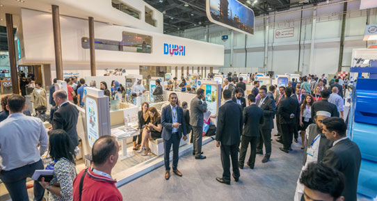 image of arabian travel market exhibition dubai