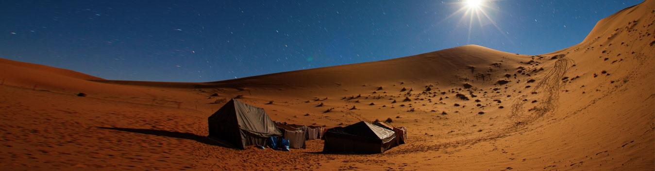 image of desert camping in dubai