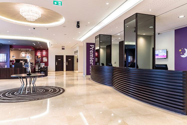 image of family at premier inn doha hotel