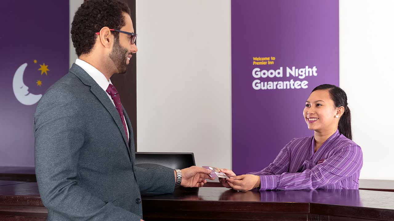 image of friendly staff at premier inn doha