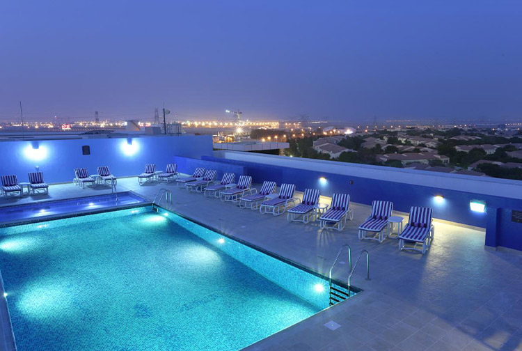 image of hotel in dubai investments park