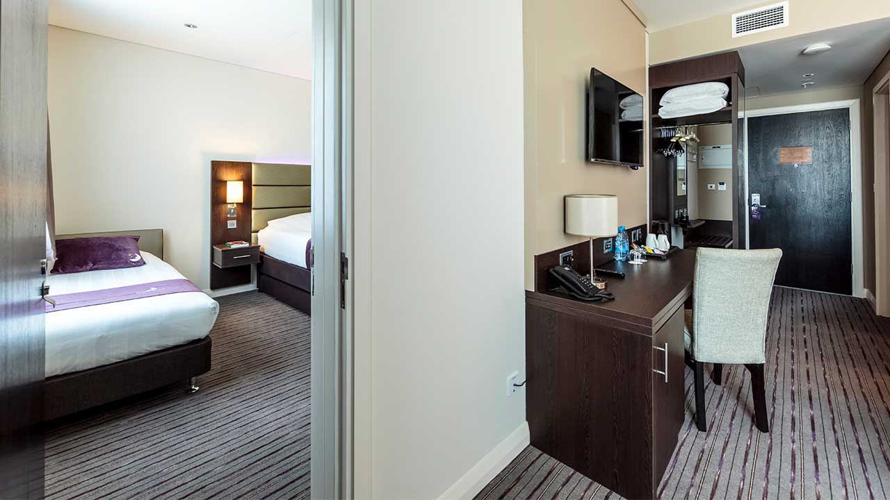 image of hotel suite at premier inn doha