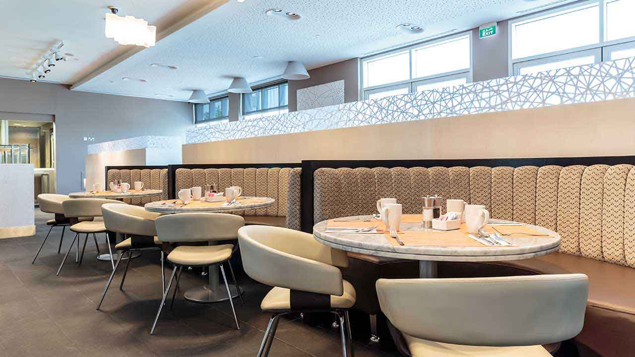 image of restaurant in premier inn doha hotel