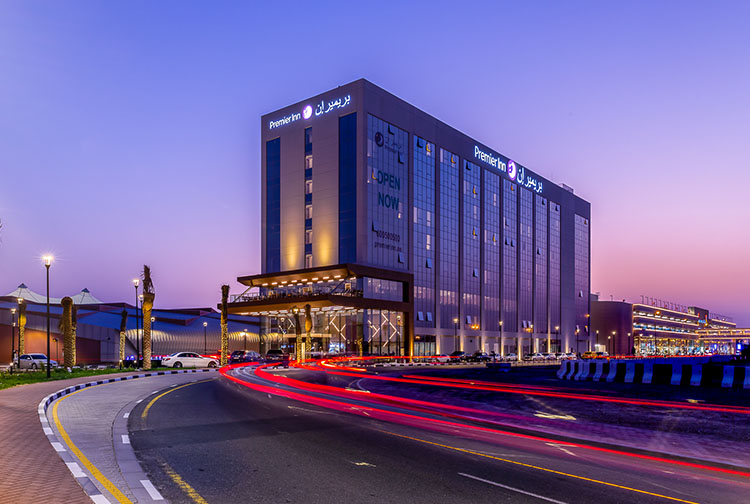 Premier Inn Dubai Dragon Mart Hotel Outside