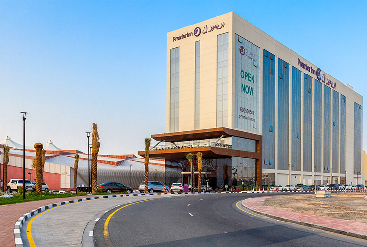 Premier Inn Dubai Dragon Mart Hotel Outside International City