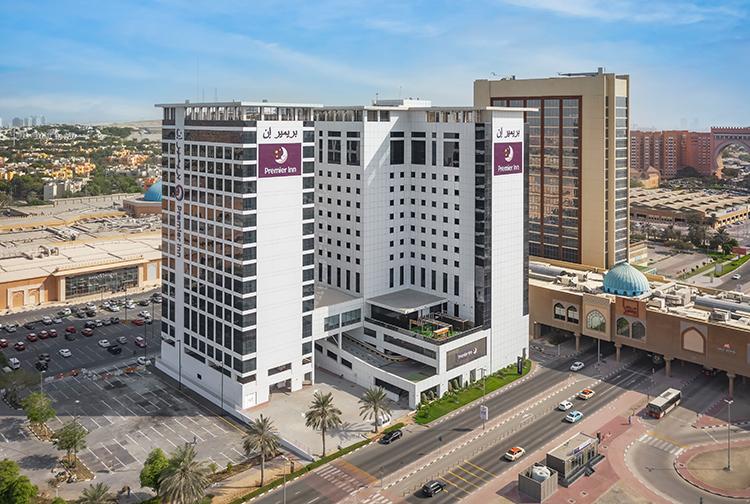 Premier Inn Ibn Battuita Mall hotel in Dubai new extension near Dubai Metro